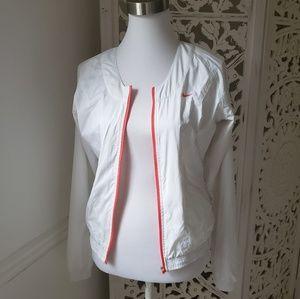 [Nike] White Training Jacket S
